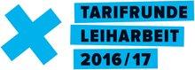 Logo der Tarifrunde Leiharbeit 2016
