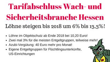 Tarifabschluss WaSi Hessen 2017