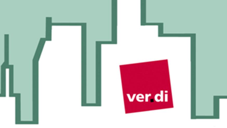 Logo: ver.di in der Wohnungswirtschaft