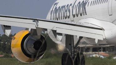 Bild eines Thomas Cook-Flugzeugs